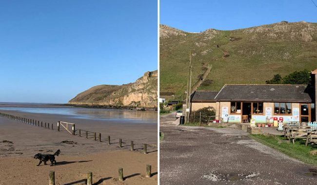 Image of Brean Down & Brean Cafe