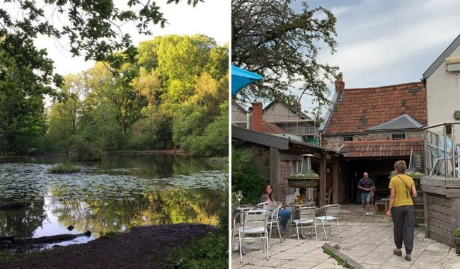 Image of Abbots Pool & The George Inn